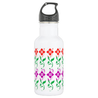 Every Occasion SUNSHINE Spring Flowers 532 Ml Water Bottle