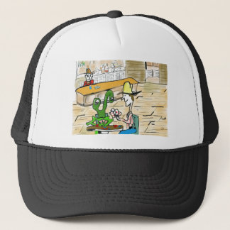 Everybody is accepted at the poker table trucker hat