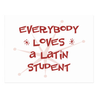 Everybody Loves A Latin Student Post Cards