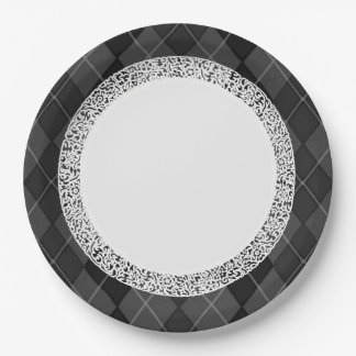 Everyday_Dinner_Paper-Plates(c)Penthouse-Gr-Argyle Paper Plate