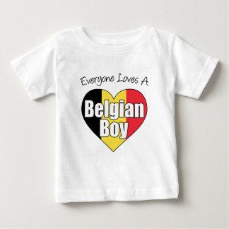 Everyone Loves A Belgian Boy Baby T-Shirt