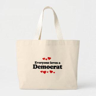 Everyone loves a Democrat Bags