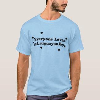 Everyone Loves an Uruguayan Boy T-Shirt