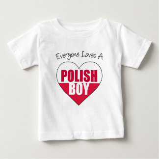 Everyone Loves Polish Boy Baby T-Shirt