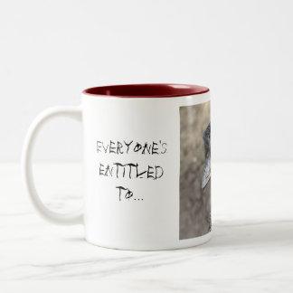 Everyone's entitled to a bad hair day mug