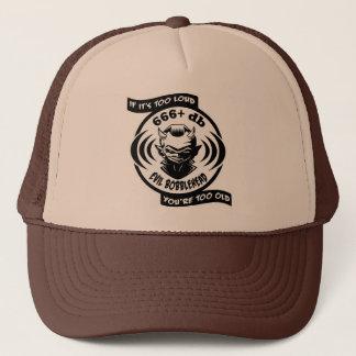 Evil Bobblehead Trucker Trucker Hat