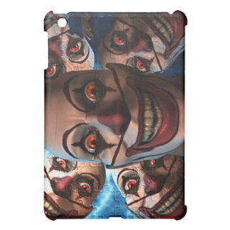 Evil Clowns with Bulging Eyes iPad Mini Case