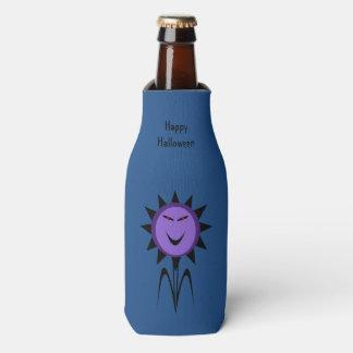 Evil Flower Kawaii Goth Halloween Bottle Cooler