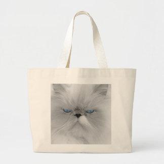 Evil Grandfather of Grumpy Cat Jumbo Tote Bag