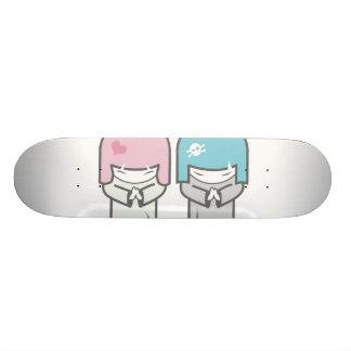 evil twins 20 cm skateboard deck