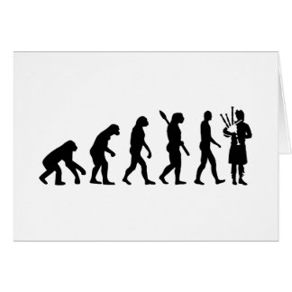 Evolution Bagpipe Cards