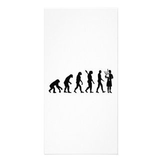 Evolution Bagpipe Picture Card