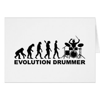Evolution drummer drums cards
