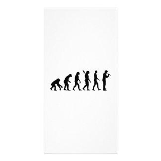 Evolution Flute Picture Card