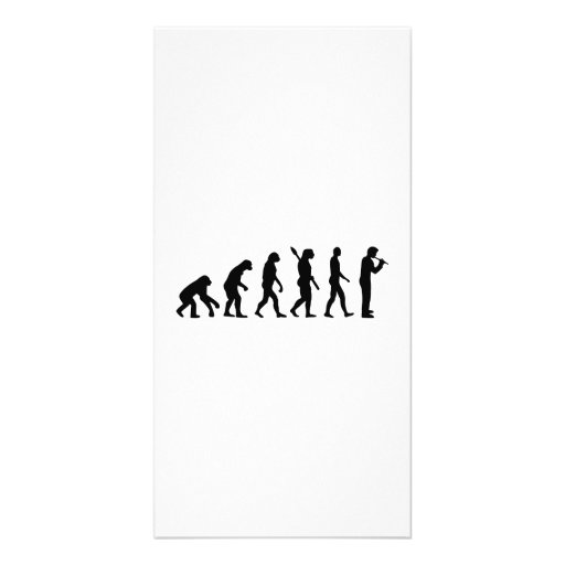 Evolution Flute Picture Card