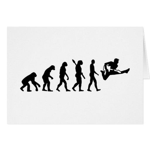 Evolution Guitar Card