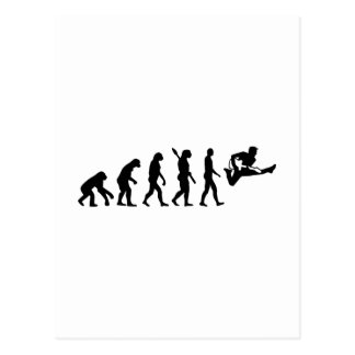 Evolution Guitar Post Card