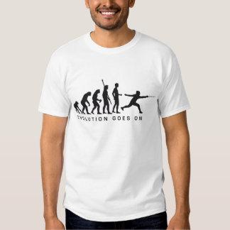 evolution more fencer shirts