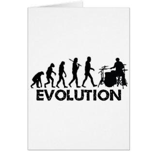 Evolution of a Drummer Cards