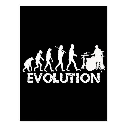 Evolution of a Drummer Post Cards