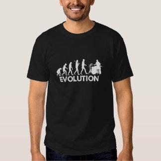 Evolution of a Drummer T Shirts