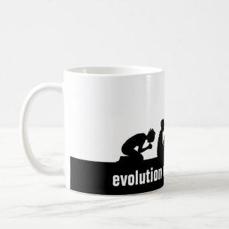 """Evolution of an Apostate"" Basic White Mug"