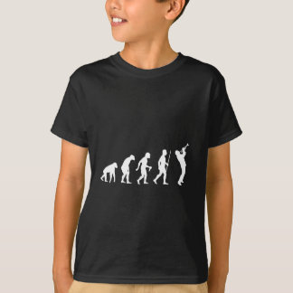 Evolution of Man To Playing Trumpet T-Shirt