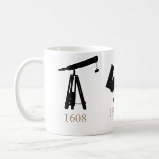Evolution of Telescopes Mug! Basic White Mug