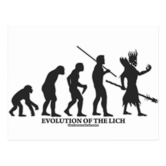 Evolution of the Lich Postcard
