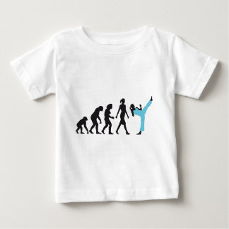 evolution OF woman female martially kind more figh Tee Shirt