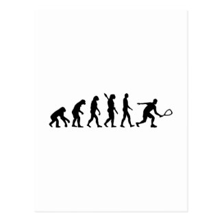 Evolution Racquetball Postcard