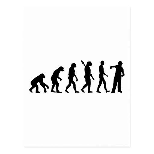 Evolution Rapper singer Post Card