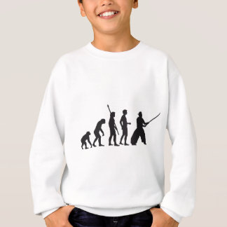 evolution samurai sweatshirt