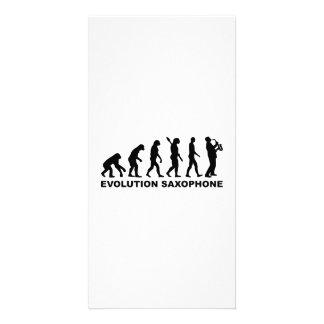 Evolution Saxophone Photo Cards