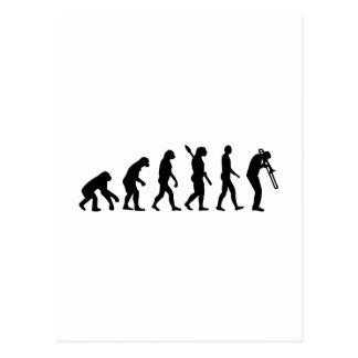 Evolution Trombone Postcards