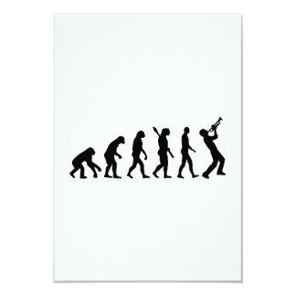 Evolution trumper personalized invitations