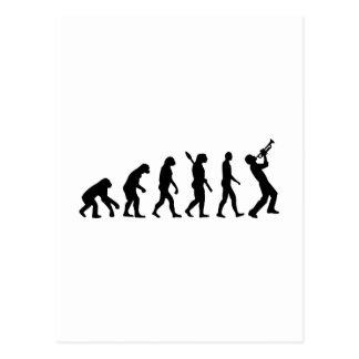 Evolution trumper post cards