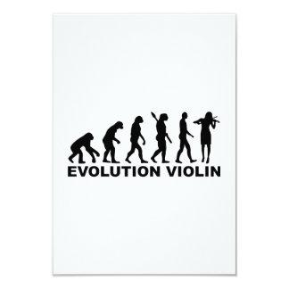 Evolution violin announcements