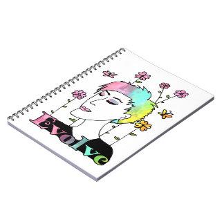 Evolve Spiral Note Book