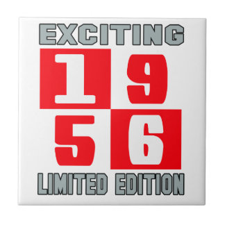 Exciting 1956 limited edition small square tile