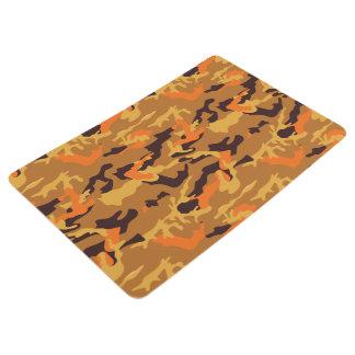 exclusive camouflage printed floor mat