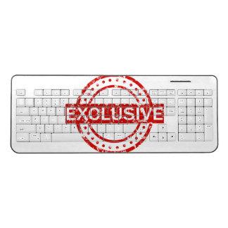 Exclusive Custom Wireless Keyboard