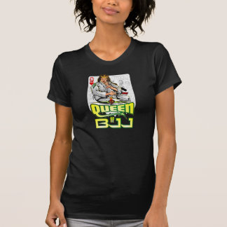 Exe Queen of BJJ - Fight Club of Girls T-shirts