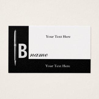 Executive Office Pen Platinum Business Card