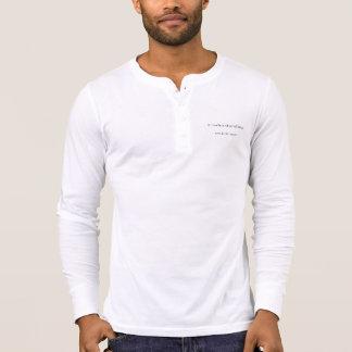 Existence men Henley long sleeve T-Shirt
