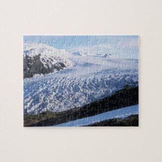 Exit Glacier in Kenai Fjords National Park, Jigsaw Puzzle