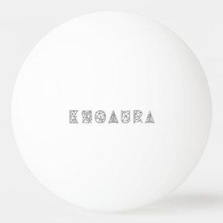 EXOAURA 3 Star Ping Pong Ball