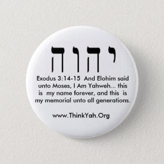 Exodus 3:14-15  Button