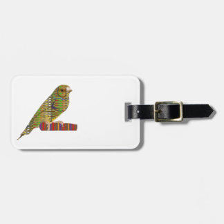 Exotic BIRD Pet ZOO Graphic Art: LOWPRICE gifts Luggage Tag