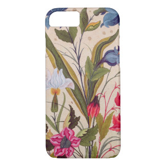 Exotic Flowers With Insects Floral Vintage Art iPhone 8/7 Case